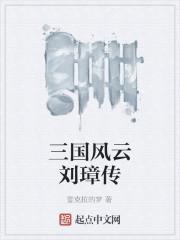 小说《三国风云刘璋传》
